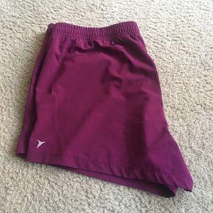 Plus Size Active Shorts